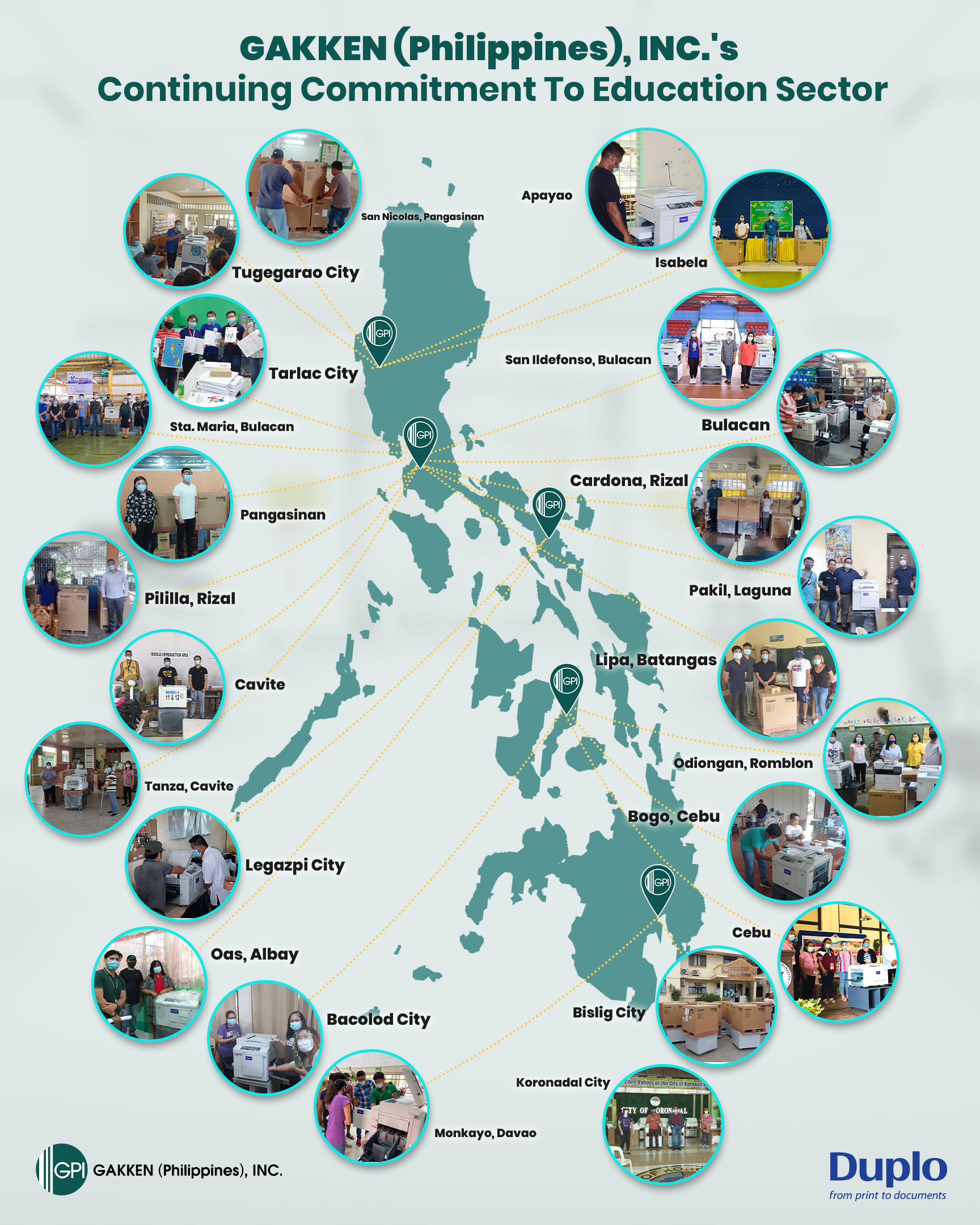 GAKKEN (Philippines), INC., Continuing Commitment To Education Sector