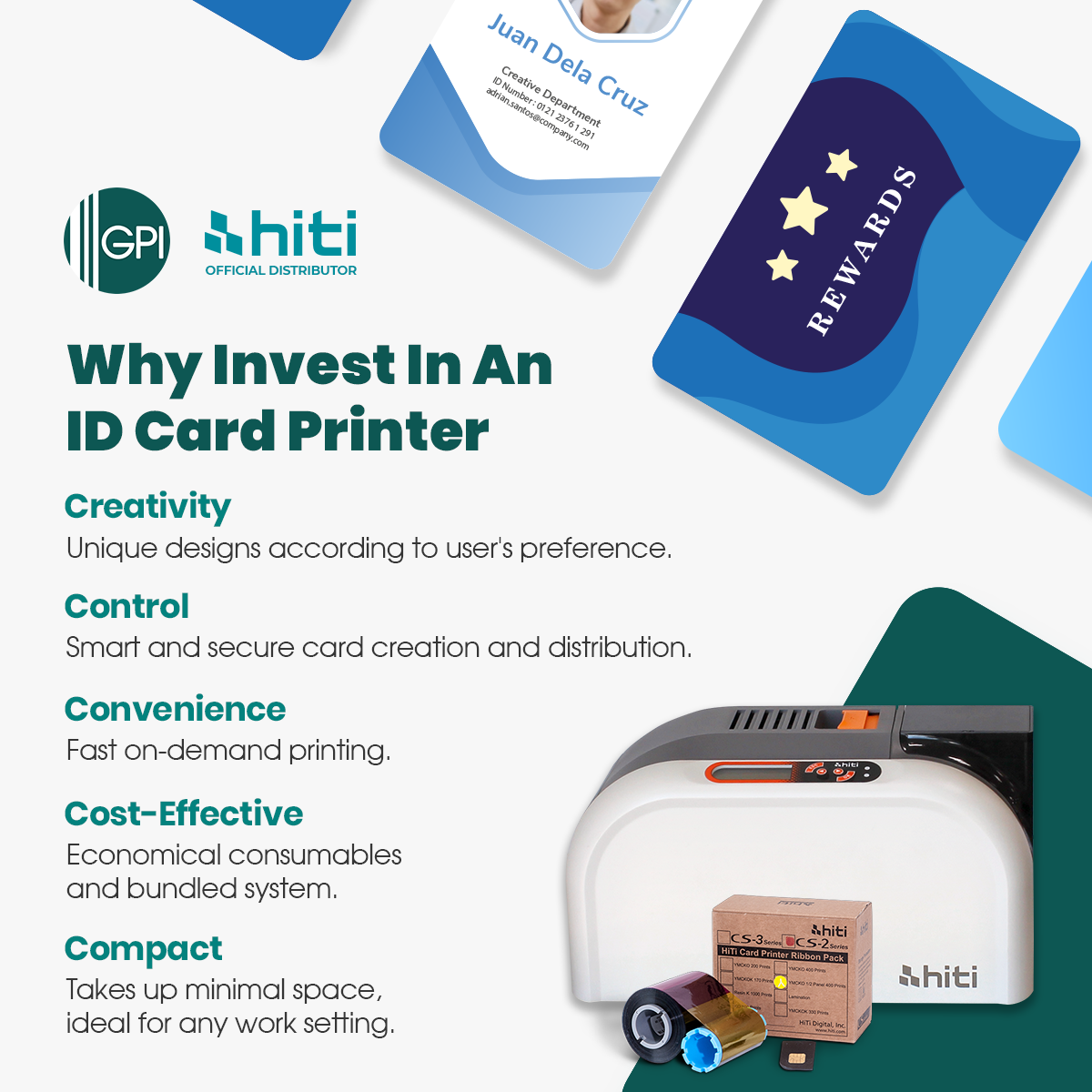 HiTi Card Printer Promo Ends October