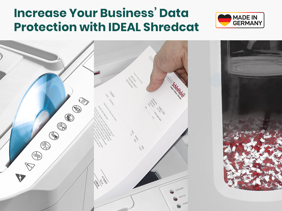 Increase Your Business' Data Protection with Ideal Shredcat 8280CC
