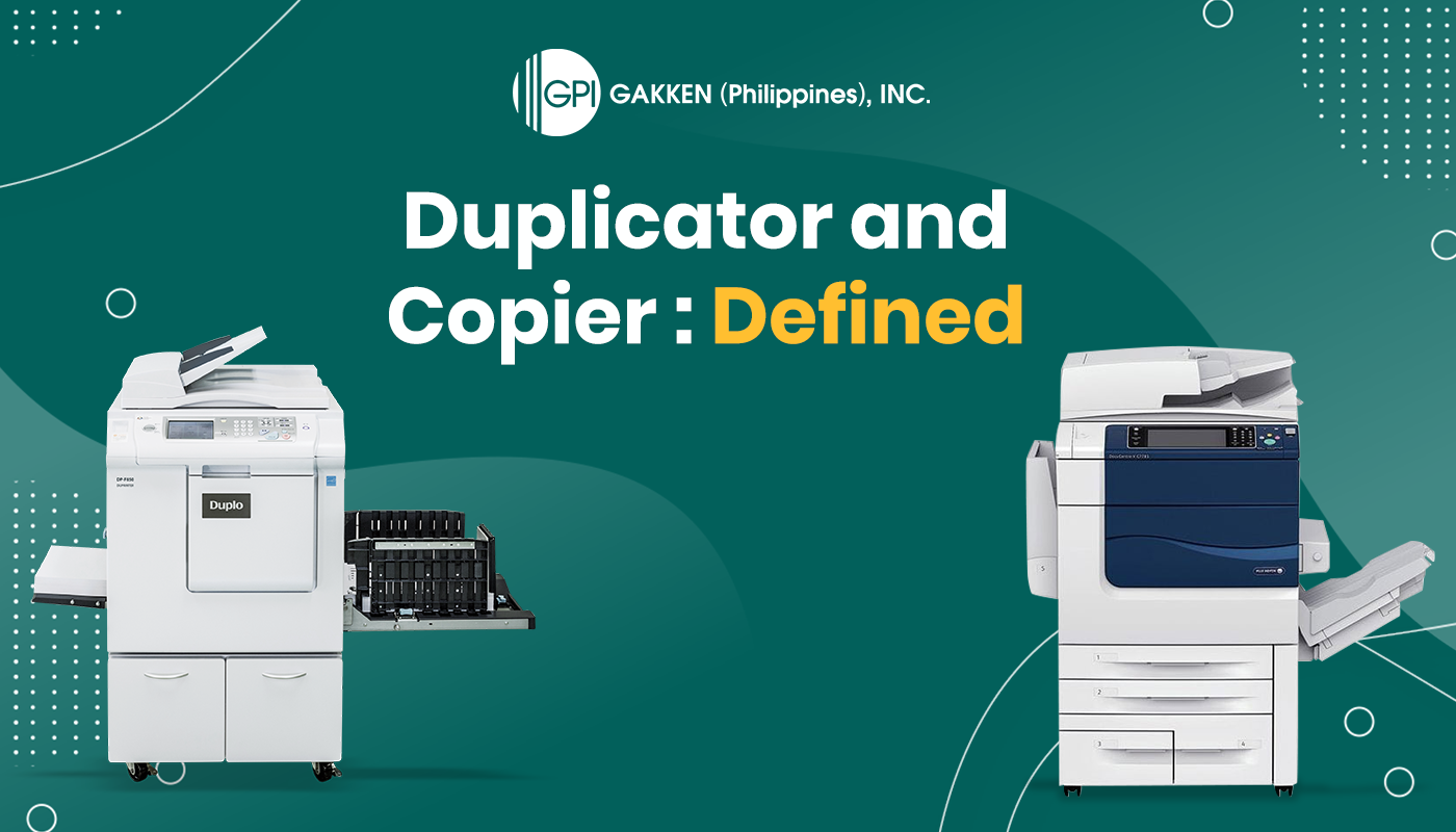 The Differences Between a Duplicator and a Copier